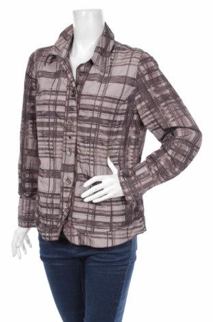 Γυναικείο πουκάμισο Bonita, Μέγεθος L, Χρώμα Γκρί, 94% πολυεστέρας, 6% μέταλλο, Τιμή 15,98€