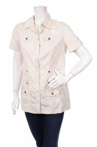 Дамска риза Cecil, Размер M, Цвят Бежов, Цена 5,00лв.