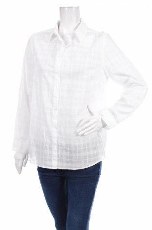 Γυναικείο πουκάμισο Cheer, Μέγεθος L, Χρώμα Λευκό, Τιμή 17,01€