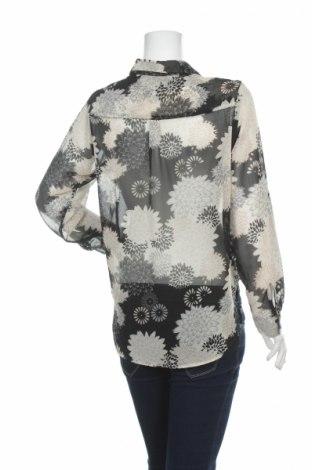 Γυναικείο πουκάμισο H&M, Μέγεθος S, Χρώμα Μαύρο, Πολυεστέρας, Τιμή 16,70€