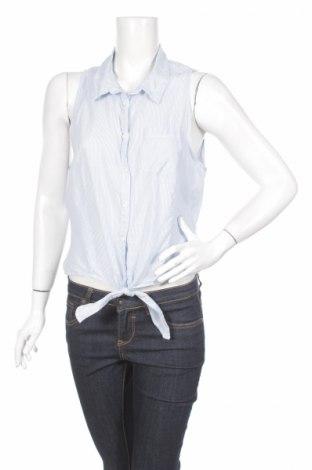 Γυναικείο πουκάμισο H&M Divided, Μέγεθος L, Χρώμα Μπλέ, Βαμβάκι, Τιμή 12,99€