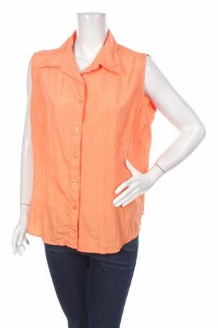 Γυναικείο πουκάμισο Infinity Woman, Μέγεθος XL, Χρώμα Πορτοκαλί, 100% πολυεστέρας, Τιμή 9,28€