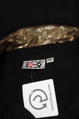 Γυναικείο πουκάμισο Ix-O, Μέγεθος L, Χρώμα Μαύρο, 100% πολυεστέρας, Τιμή 16,70€
