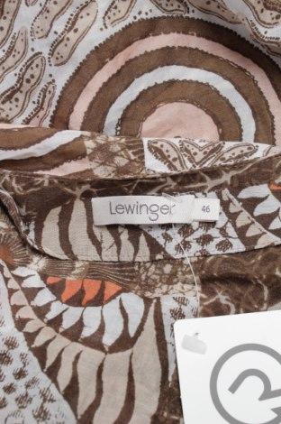 Γυναικείο πουκάμισο Lewinger, Μέγεθος XL, Χρώμα Πολύχρωμο, Πολυεστέρας, Τιμή 9,90€
