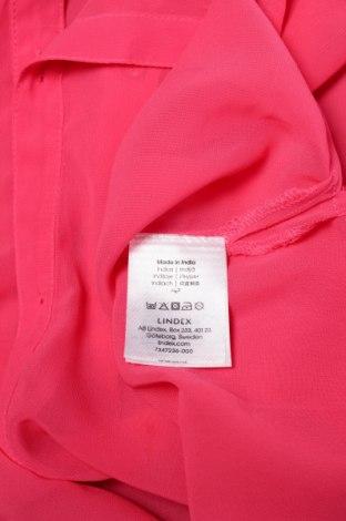 Γυναικείο πουκάμισο Lindex, Μέγεθος XS, Χρώμα Ρόζ , Πολυεστέρας, Τιμή 9,90€