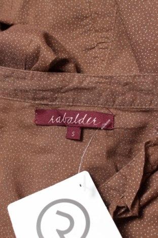 Γυναικείο πουκάμισο Rabalder, Μέγεθος S, Χρώμα Καφέ, Τιμή 16,70€