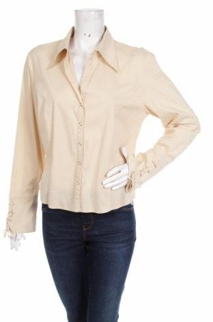 Γυναικείο πουκάμισο Taifun, Μέγεθος L, Χρώμα  Μπέζ, 65% βαμβάκι, 30% πολυαμίδη, 5% ελαστάνη, Τιμή 13,61€