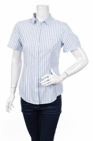 Γυναικείο πουκάμισο United Colors Of Benetton, Μέγεθος M, Χρώμα Μπλέ, 100% βαμβάκι, Τιμή 11,34€