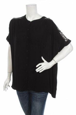 Γυναικείο πουκάμισο Vero Moda, Μέγεθος S, Χρώμα Μαύρο, 100% βισκόζη, Τιμή 25,73€