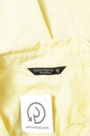 Γυναικείο πουκάμισο Women`s, Μέγεθος M, Χρώμα Κίτρινο, 70% βαμβάκι, 27% πολυεστέρας, 3% ελαστάνη, Τιμή 16,70€