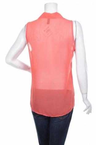Γυναικείο πουκάμισο Zebra, Μέγεθος L, Χρώμα Πορτοκαλί, Πολυεστέρας, Τιμή 11,13€