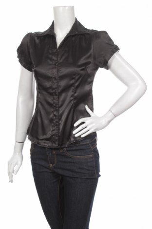 Γυναικείο πουκάμισο Zebra, Μέγεθος M, Χρώμα Μαύρο, 97% πολυεστέρας, 3% ελαστάνη, Τιμή 11,13€