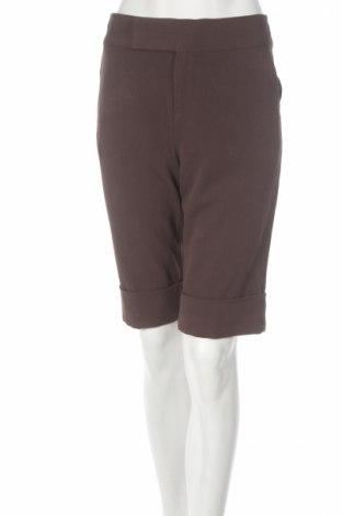 Γυναικείο κοντό παντελόνι Essentiel, Μέγεθος M, Χρώμα Καφέ, 62% πολυεστέρας, 33% βισκόζη, 5% ελαστάνη, Τιμή 4,35€