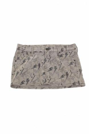 Παιδική φούστα H&M, Μέγεθος 14-15y/ 168-170 εκ., Χρώμα Γκρί, 98% βαμβάκι, 2% ελαστάνη, Τιμή 3,27€