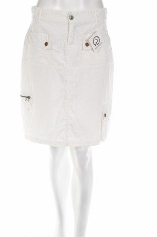 Пола Kenvelo, Размер S, Цвят Бял, 55% лен, 45% памук, Цена 5,29лв.