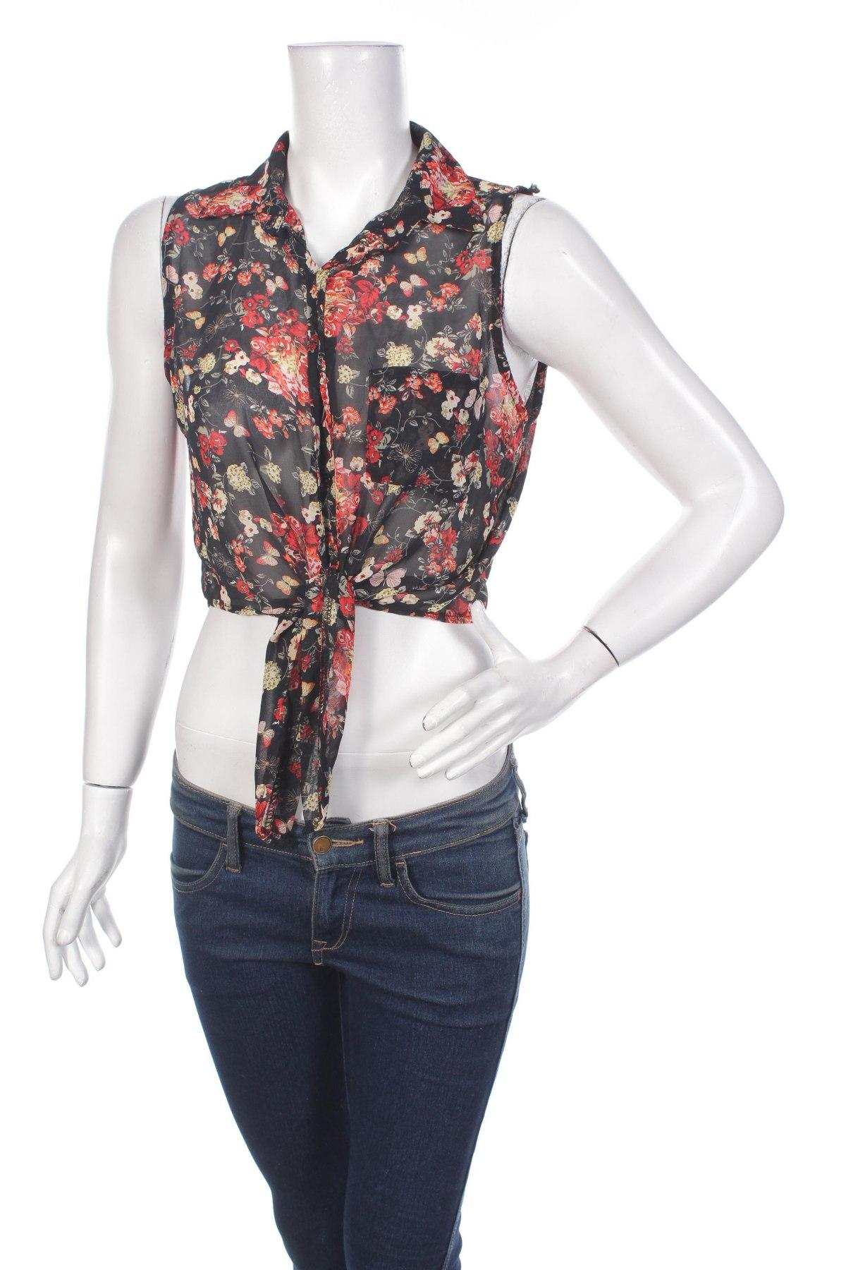 Γυναικείο πουκάμισο, Μέγεθος S, Χρώμα Πολύχρωμο, Τιμή 11,75€