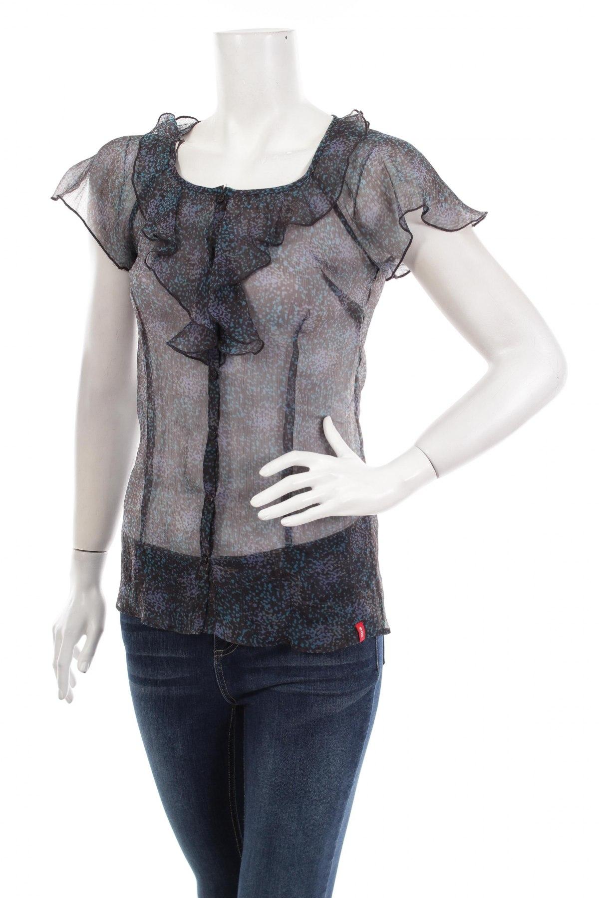 Γυναικείο πουκάμισο Edc By Esprit, Μέγεθος XS, Χρώμα Πολύχρωμο, Τιμή 11,75€