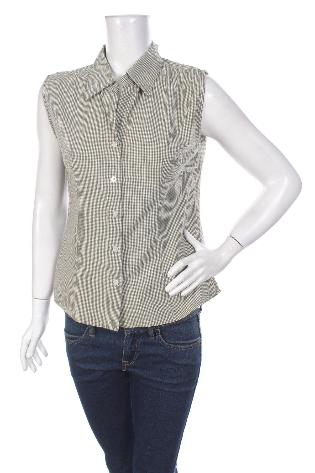 Γυναικείο πουκάμισο Flash, Μέγεθος M, Χρώμα Πράσινο, 100% βαμβάκι, Τιμή 12,99€