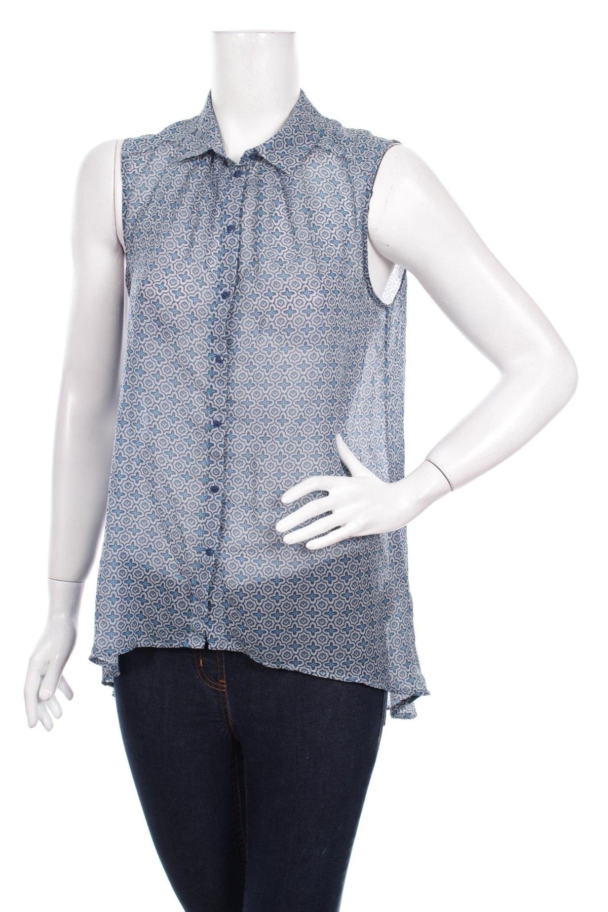 Γυναικείο πουκάμισο H&M, Μέγεθος L, Χρώμα Πολύχρωμο, 100% πολυεστέρας, Τιμή 11,75€