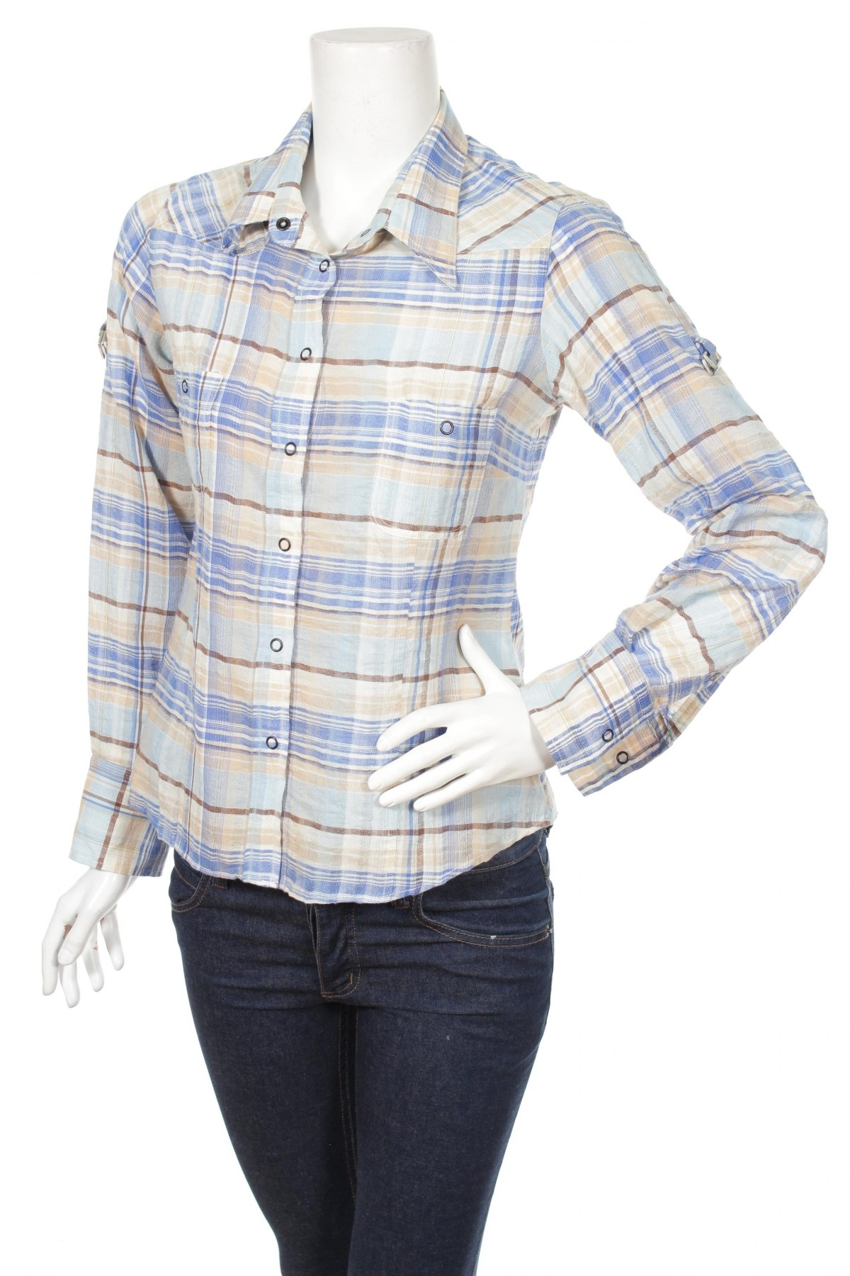 Γυναικείο πουκάμισο Jensen, Μέγεθος S, Χρώμα Πολύχρωμο, Τιμή 17,94€