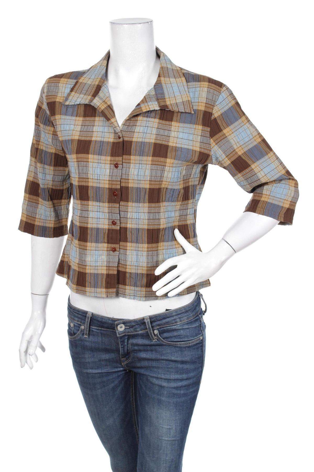 Γυναικείο πουκάμισο Orsay, Μέγεθος XL, Χρώμα Πολύχρωμο, 36% πολυαμίδη, 29% πολυεστέρας, 20% βαμβάκι, 14% βισκόζη, 1% ελαστάνη, Τιμή 12,99€