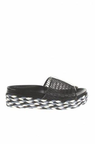 Papuci de casă Ras, Mărime 40, Culoare Negru, Textil, Preț 217,29 Lei