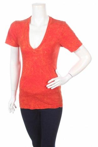 Γυναικεία μπλούζα American Apparel, Μέγεθος XS, Χρώμα Πορτοκαλί, Βαμβάκι, Τιμή 5,75€