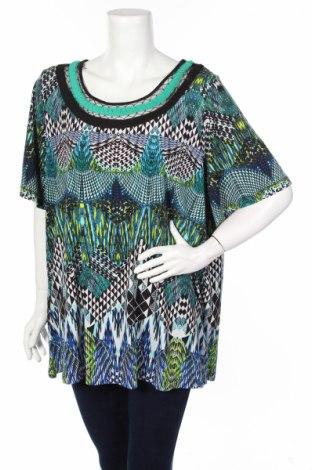 Дамска блуза Beme, Размер M, Цвят Многоцветен, Полиестер, еластан, Цена 4,00лв.