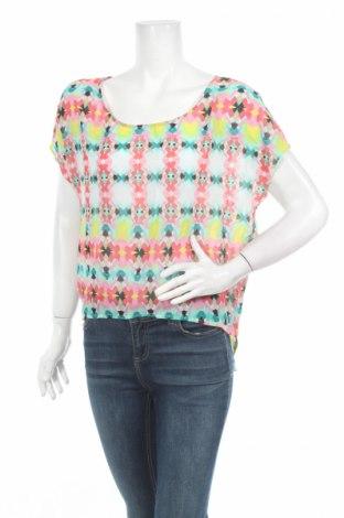 Γυναικεία μπλούζα Bisou Bisou By Michele Bohbot, Μέγεθος L, Χρώμα Πολύχρωμο, Πολυεστέρας, Τιμή 2,94€