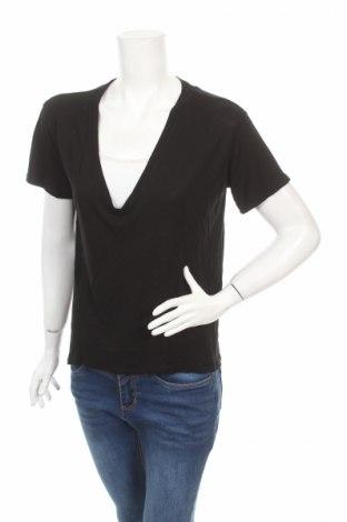 Дамска блуза Enza Costa, Размер S, Цвят Черен, 90% вискоза, 10% коприна, Цена 61,65лв.