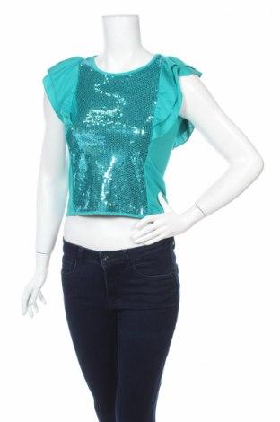 Дамска блуза Epic Threads, Размер M, Цвят Зелен, 70% полиестер, 30% вискоза, Цена 4,50лв.