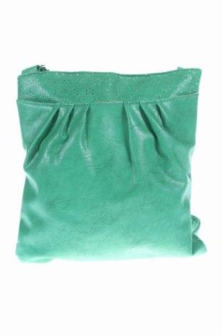 Γυναικεία τσάντα, Χρώμα Πράσινο, Δερματίνη, Τιμή 4,69€
