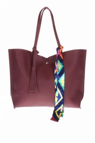 Γυναικεία τσάντα, Χρώμα Κόκκινο, Δερματίνη, Τιμή 9,65€
