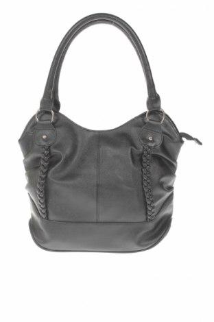 Γυναικεία τσάντα, Χρώμα Μαύρο, Δερματίνη, Τιμή 5,20€