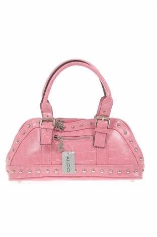 Γυναικεία τσάντα Aldo, Χρώμα Ρόζ , Δερματίνη, Τιμή 5,88€
