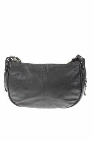 Γυναικεία τσάντα Rock Chic, Χρώμα Μαύρο, Γνήσιο δέρμα, Τιμή 14,69€
