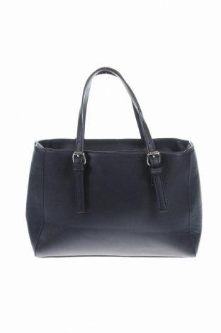 Γυναικεία τσάντα Stradivarius, Χρώμα Μαύρο, Δερματίνη, Τιμή 7,54€