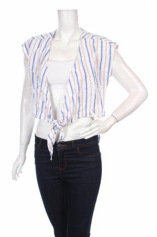 Дамска жилетка Cotton On, Размер S, Цвят Многоцветен, 55% лен, 45% вискоза, Цена 5,52лв.