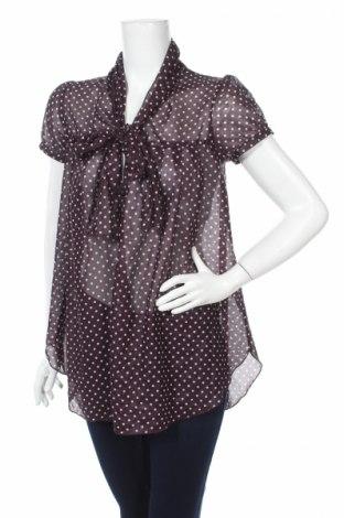 Дамска риза, Размер M, Цвят Лилав, 100% полиестер, Цена 5,48лв.