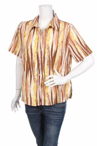 Дамска риза Alia, Размер XL, Цвят Многоцветен, 99% полиестер, 1% еластан, Цена 3,04лв.