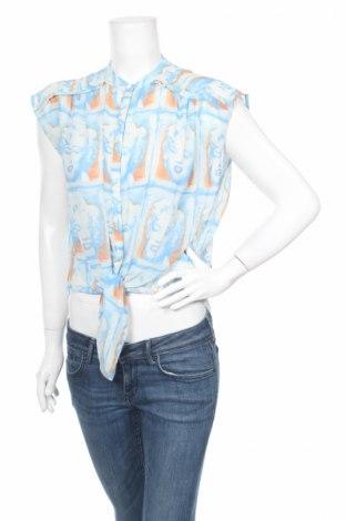 Дамска риза Andy Warhol By Pepe Jeans, Размер XS, Цвят Многоцветен, 100% полиестер, Цена 35,70лв.