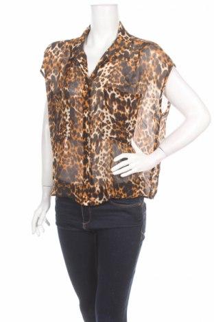 Γυναικείο πουκάμισο Bisou Bisou By Michele Bohbot, Μέγεθος L, Χρώμα Πολύχρωμο, Πολυεστέρας, Τιμή 3,90€