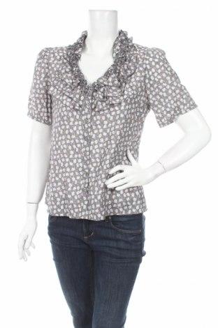 Дамска риза Carla F., Размер S, Цвят Многоцветен, 75% вискоза, 25% полиамид, Цена 5,52лв.