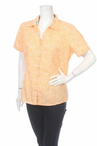 Дамска риза Basic Editions, Размер L, Цвят Оранжев, 55% памук, 45% полиестер, Цена 15,00лв.