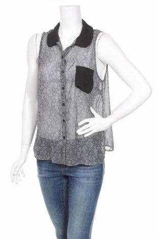 Γυναικείο πουκάμισο Girl Xpress, Μέγεθος L, Χρώμα Γκρί, Πολυεστέρας, Τιμή 4,33€