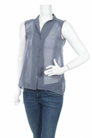 Дамска риза H&M, Размер S, Цвят Син, 100% полиестер, Цена 7,80лв.