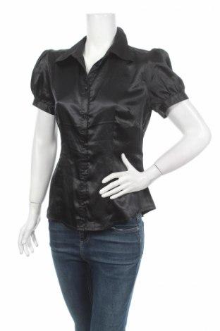Γυναικείο πουκάμισο Isabell Kristensen, Μέγεθος M, Χρώμα Μαύρο, 95% πολυεστέρας, 5% ελαστάνη, Τιμή 5,28€
