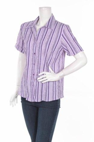 Дамска риза Kingfield, Размер L, Цвят Многоцветен, 99% полиестер, 1% еластан, Цена 4,50лв.
