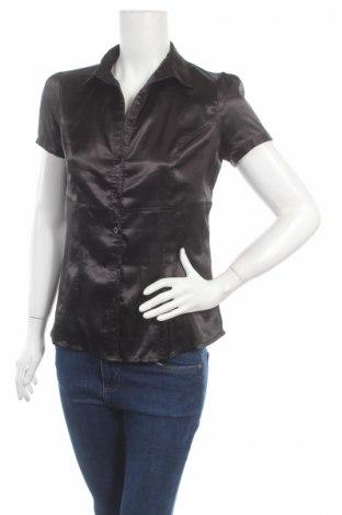 Дамска риза Terranova, Размер M, Цвят Зелен, 97% полиестер, 3% еластан, Цена 6,25лв.