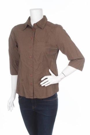 Γυναικείο πουκάμισο Trend, Μέγεθος M, Χρώμα Πράσινο, Βαμβάκι, Τιμή 4,86€